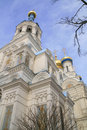 Russian church. Karlovy Vary Royalty Free Stock Image
