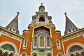 Russian church in nice france Royalty Free Stock Image
