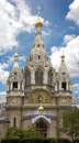 Russian church in Paris 1 Royalty Free Stock Photo