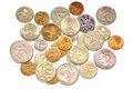 The Russian coins Royalty Free Stock Photo