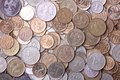 Russian coins Royalty Free Stock Photo