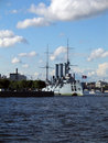Russian Cruiser Royalty Free Stock Photos