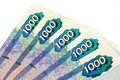Russian currency Royalty Free Stock Photos