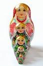 Russian doll babushka Royalty Free Stock Photo