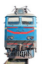 Russian electric train Stock Images