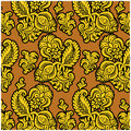 Russian floral pattern Royalty Free Stock Photo