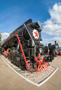 Russian freight locomotive ies of the last century Stock Photography
