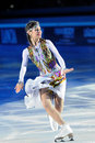 Russian ice skater Tatiana Totmianina Royalty Free Stock Image