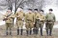 Russian marines rank Royalty Free Stock Photo