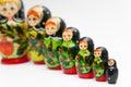 Russian matryoshka Royalty Free Stock Photo