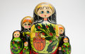 Russian matryoshka doll Stock Photos