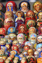 Russian Matryoshka Dolls Stock Photography