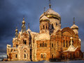 Russian monastery perm region orthodoxy in Stock Images