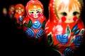 Russian national babushka matroschka Stock Image