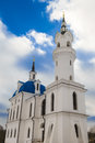 Russian neo gothic church temple built in the th century pseudo style architecture of the th century reign Stock Images