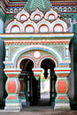 Russian orthodox church entrance Royalty Free Stock Photo