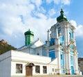 Russian Orthodox church in Kremenets town Stock Images