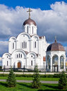 Russian orthodox church in tallinn estonia of the icon of the mother of god quick to hearken Stock Photography
