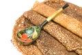 Russian pancake Royalty Free Stock Photo