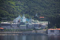 Russian panteleimon monastery mount athos greece Royalty Free Stock Photography