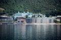 Russian panteleimon monastery mount athos greece Royalty Free Stock Images