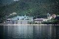 Russian panteleimon monastery mount athos greece Stock Photo