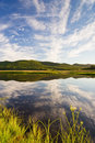 Russian Primorye beautiful lake ;) Royalty Free Stock Photography