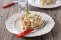 Russian salad Royalty Free Stock Photo