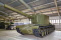 Russian self-propelled gun SU100Y Stock Photography