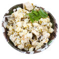 Russian stolichny salad Stock Photo