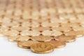 Russian ten-coin Stock Photos
