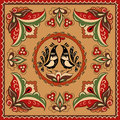 Russian traditional ornament Royalty Free Stock Photography