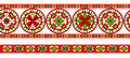 Russian traditional ornament of severodvinsk regio decorative ancient pagan elements for northern region dvina river illustration Royalty Free Stock Images