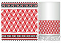 Russian ukrainian folk embroider pattern Royalty Free Stock Image
