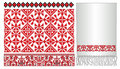 Russian ukrainian old paterrn embroider Royalty Free Stock Photo