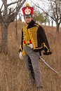 Russian uniform of cavalry. Stock Photos