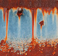 Rust background abstract corroded colorful wallpaper grunge iron rusty artistic wall peeling paint Stock Image