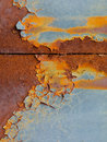 Rust background abstract corroded colorful wallpaper grunge iron rusty artistic wall peeling paint Royalty Free Stock Photography