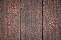 Rust colored wooden wall Stock Photography