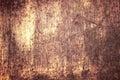 Rust Streaked Tin Royalty Free Stock Photo