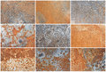 Rust texture grunge iron old steel corrosion background Stock Photos