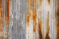 Rust texture zinc wall for background Royalty Free Stock Photo