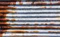 Rust zinc plate dirt and background Stock Image