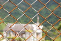 Rusted Chain Link Fence