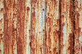 Rusted chipped metal paint background and weathered grunge with Stock Photography