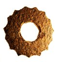 Rusted Cogwheel Royalty Free Stock Photography
