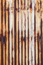 Rusted corrugated metal background texture Stock Images