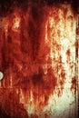Rusted door texture Stock Photo