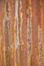 Rusted galvanized iron plate pattern grunge style Royalty Free Stock Image