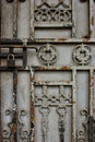 Rusted Gate Royalty Free Stock Photos